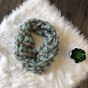 Indie print infinity scarf